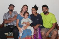 Jyothi und Faaez, Indien und Bahrain