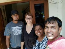 Sathish und Kanti, Indien